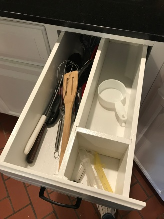dividers in all the drawers